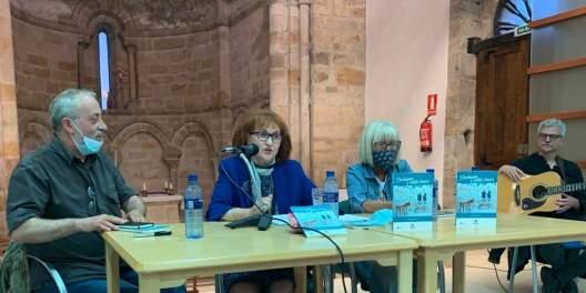 Ángel Cuesta, Nieves Viesca, Helen Mayor y J. María Aladro