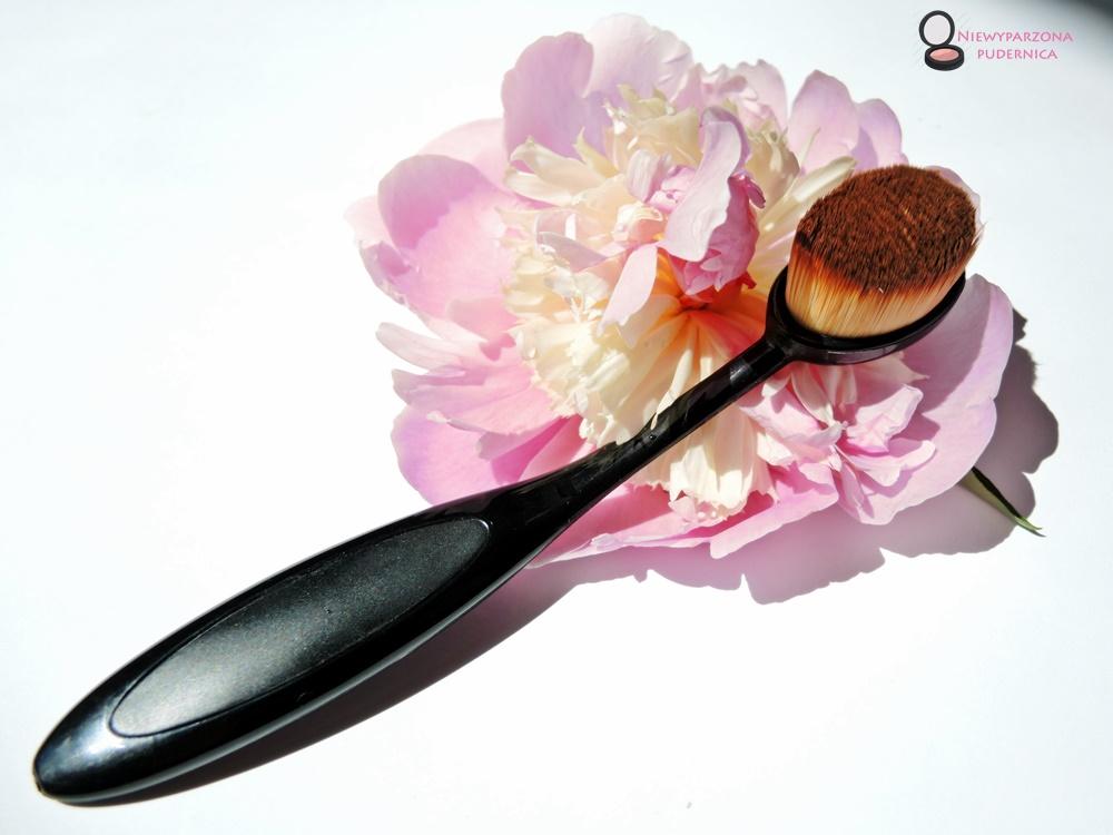szczoteczka do podkładu, aliexpress, ali, szczotka, makijaż, make up,