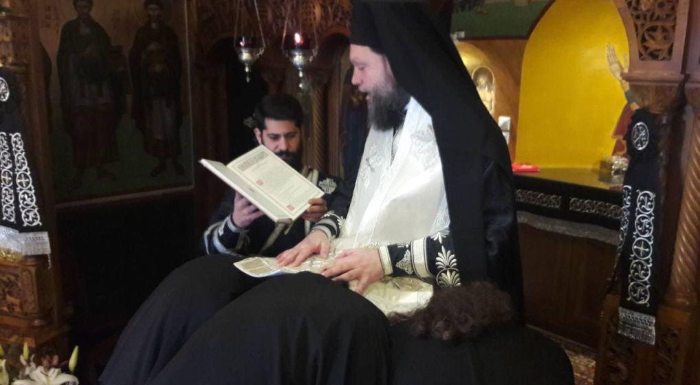 Προηγιασμένη Θ. Λειτουργία και Χειροθεσία Νέων Πνευματικών στη Μητρόπολη Ν. Ιωνίας