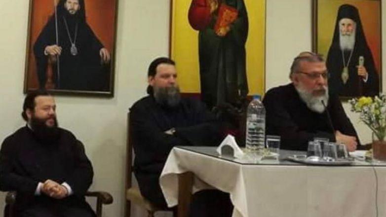 Ο π. Αντώνιος Καλλιγέρης στη Συνάντηση του Μητροπολίτη κ. Γαβριήλ με τους Νέους