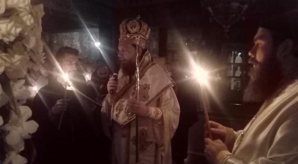 Προεόρτια Αγρυπνία επί τη εορτή της Κοιμήσεως της Θεοτόκου από τον Μητροπολίτη κ. Γαβριήλ