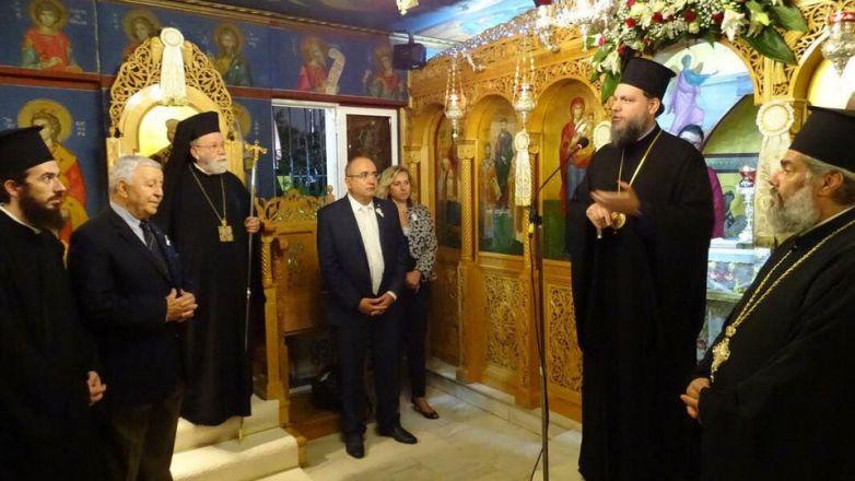 Αρχιερατικός Εσπερινός Αγ. Κυπριανού στο Ηράκλειο Αττικής