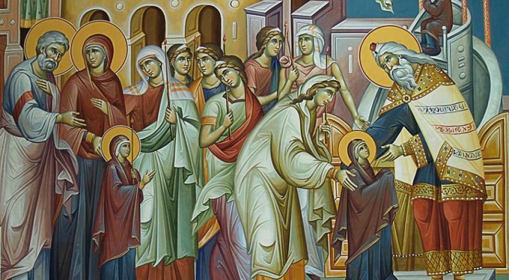 Αγρυπνία επί τη εορτή των Εισοδίων της Θεοτόκου στον Ι.Ν. Αγ. Σπυρίδωνος Ν. Ιωνίας