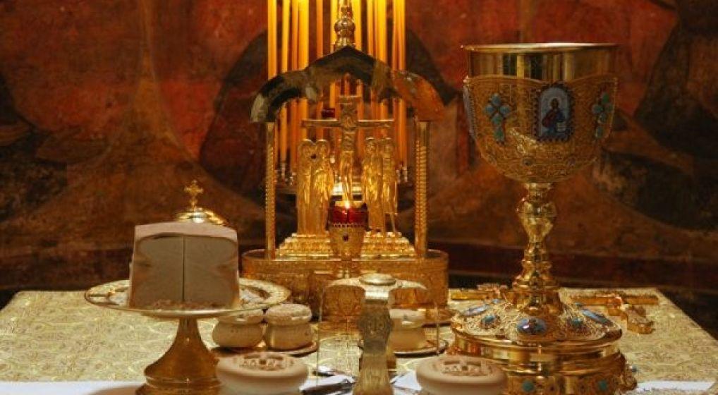 Ομιλία με θέμα: «ο άρτος και ο οίνος στη Λειτουργική παράδοση της Εκκλησίας» στον Ι.Ν. Αγ. Γεωργίου Ν. Ιωνίας