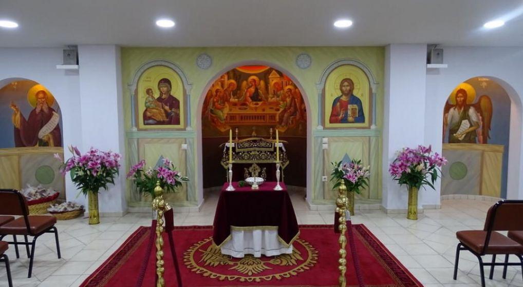 Εόρτιος Εσπερινός Ευαγγελισμού της Θεοτόκου και Θυρανοίξια Ιερού Παρεκκλησίου Οσίου Σάββα στη Ν. Χαλκηδόνα