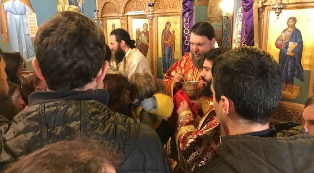 Η Θεία Λειτουργία Μ. Πέμπτης από τον Μητροπολίτη κ. Γαβριήλ