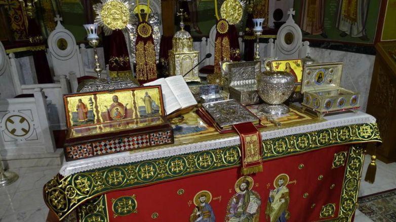 Υποδοχή Ιερών Λειψάνων για τη Σύναξη της Παναγίας Διασωζούσης και πάντων των εν Ιωνία, Καππαδοκία, Πισιδία και Ν. Ιωνία τιμωμένων Αγίων στη Ν. Ιωνία