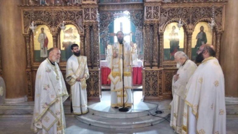 Αρχιερατική Θεία Λειτουργία στον Ι.Ν. Αγ. Στεφάνου Ν. Ιωνίας