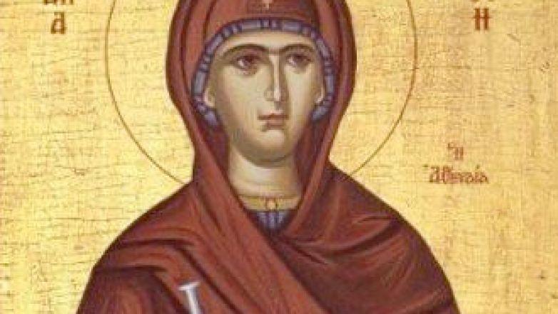 Αγρυπνία Αγίας Φιλοθέης στον Ι.Ν. Αγ. Μαρίνης Ν. Φιλαδελφείας