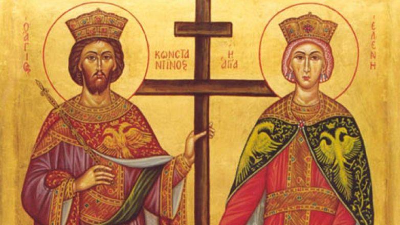 Εορτή Αγίων Κωνσταντίνου και Ελένης στη Νέα Ιωνία