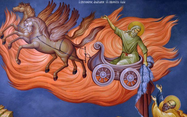 Εορτή Προφήτη Ηλία στην Καλογραίζα