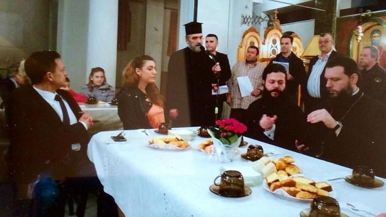 Εκδήλωση Αγάπης στον Άγιο Κόσμα