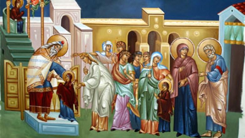 Ιερά Αγρυπνία επί τη Εορτή των Εισοδίων της Υπεραγίας Θεοτόκου στον Ι.Ν. Αγ. Μαρίνης Ν. Φιλαδελφείας