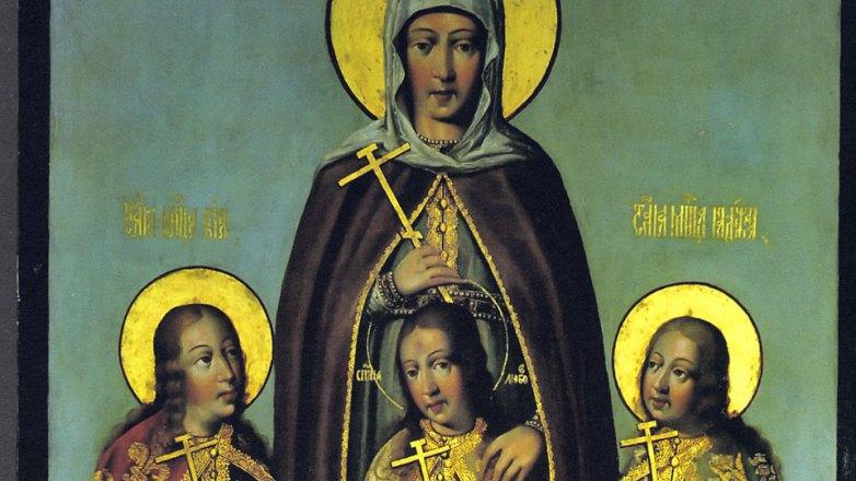 Ιερά Αγρυπνία στον Ι.Ν. Αγ. Σπυρίδωνος Ν. Ιωνίας επί τη εορτή της Αγ. Σοφίας και των θυγατέρων αυτής Πίστης, Ελπίδος και Αγάπης