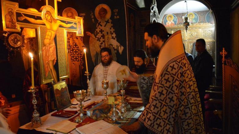 Ιερά αγρυπνία στον Ι. Ναό Ευαγγελισμού της Θεοτόκου επί τη μνήμη των Αγίων Τεσσαράκοντα μαρτύρων