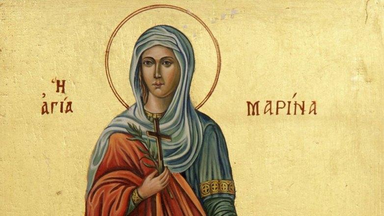 Ιερά Πανήγυρις Αγ. Μαρίνης