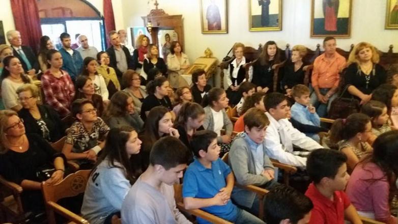 Ξεκίνησε η Νέα Κατηχητική Χρονιά στον Ι.Ν. Ευαγγελισμού της Θεοτόκου Ν. Χαλκηδόνος