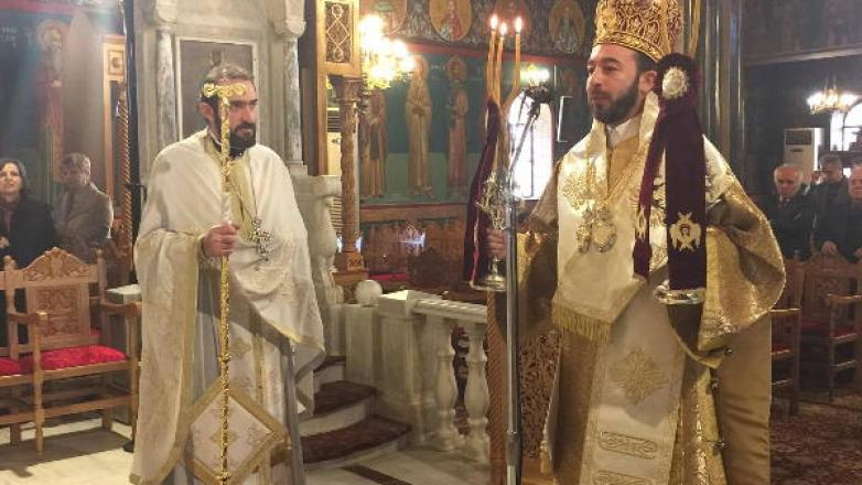 Ο επίσκοπος Μπραζαβίλ και Γκαμπόν στον Ιερό Καθεδρικό Ναό Κοιμήσεως Θεοτόκου Ν. Φιλαδελφείας
