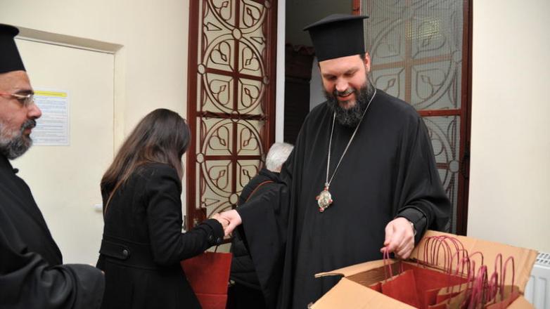 Συνάντηση του Μητροπολίτη Ν. Ιωνίας με τους υπεύθυνους ιερείς νεότητος