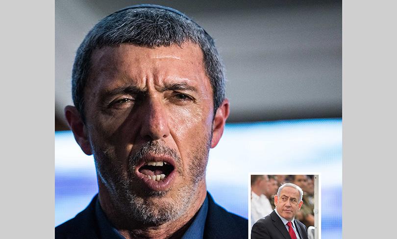 photo of Israeli Education Minister Rafi Peretz