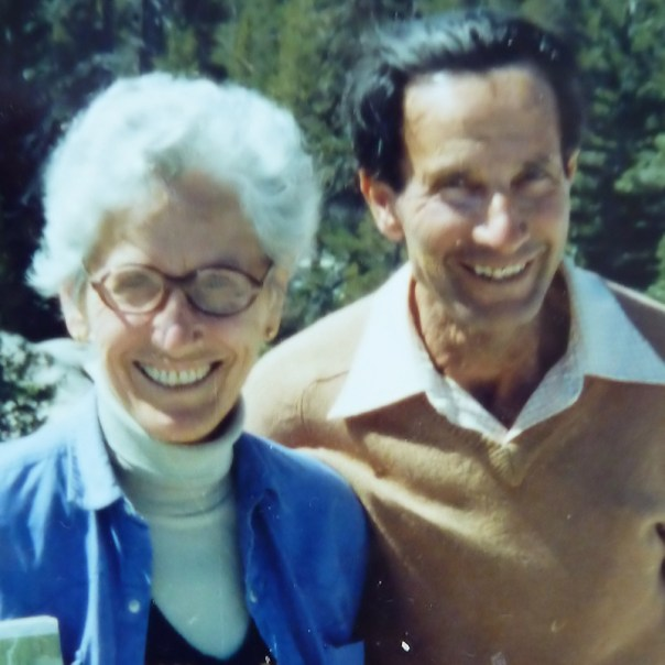 """photo of Elsa and Max Weissenberg z""""l"""