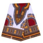 Java African print Ankara White