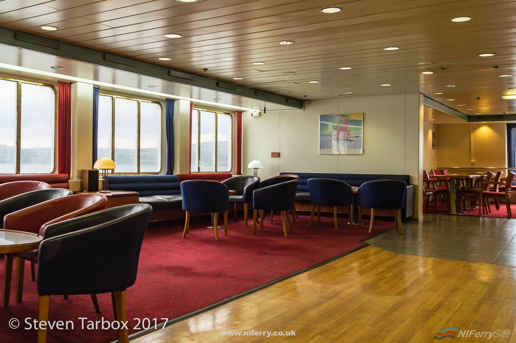 Seating in the bar area.  © Steven Tarbox