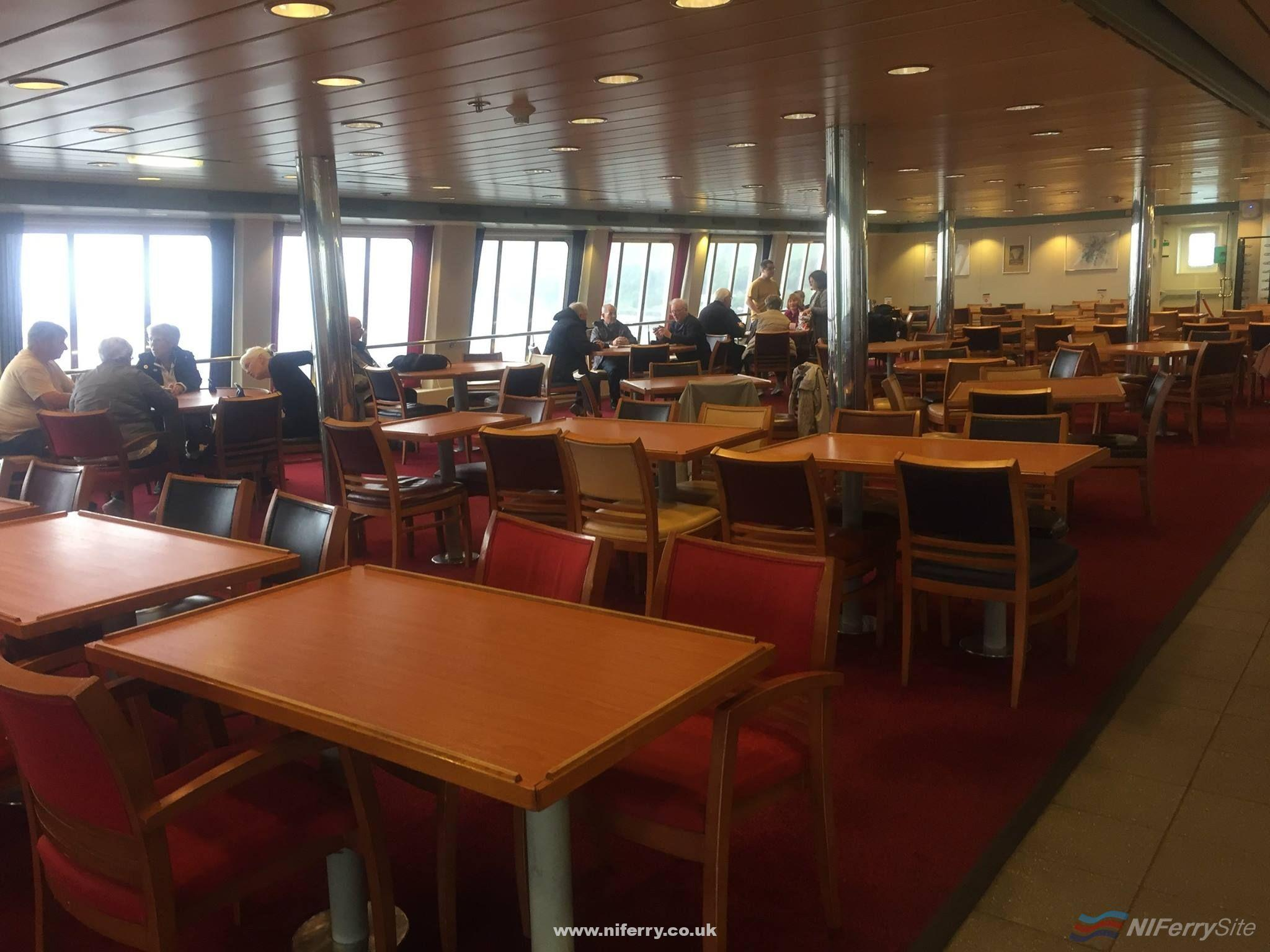 The Restaurant, European Seaway. Copyright © Gary Andrews.