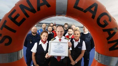 Photo of [Press Release] Stena Line vessels recognised for safe operations