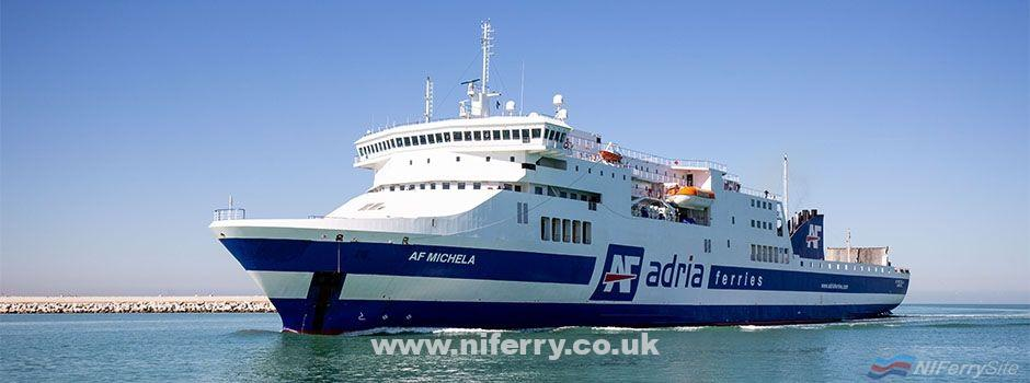 AF MICHELA, ex STENA EGERIA, strong>HOA SEN, etc. Adria Ferries.