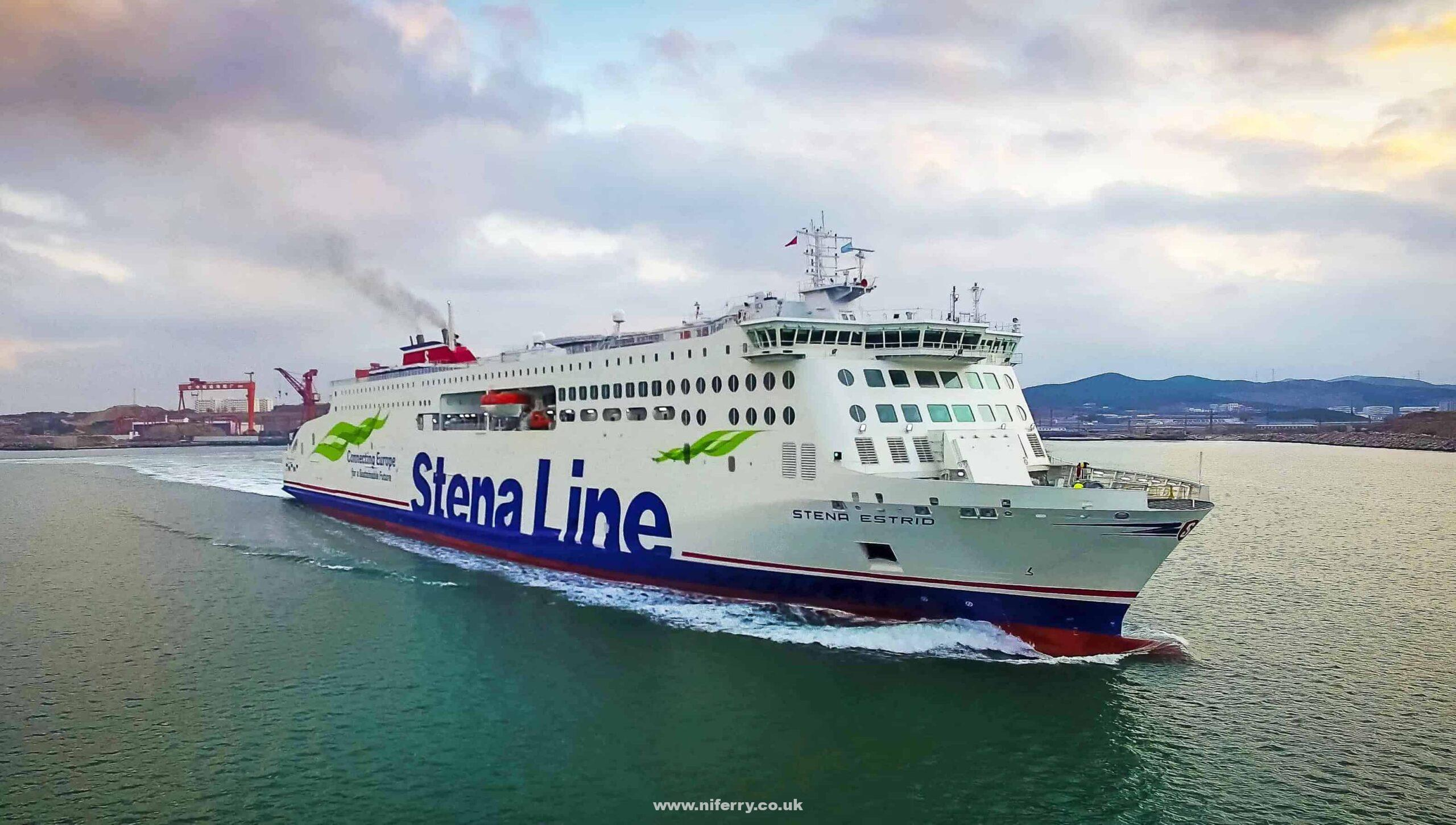 BON VOYAGE: Stena Line's newest ferry Stena Estrid departs the AVIC Weihai Shipyard in north-western China, bound for its new home on the Irish Sea between Ireland and Britain. Manned by a much-reduced crew of 27, with no passengers on board, the ship will travel on a journey of well over 10,000 miles, taking just over one month and making a number of stops on the way, before finally arriving in Wales from where it will start service in January on the Dublin to Holyhead route.