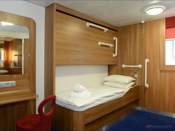 Disabled cabin on Stena Lagan/Stena Mersey. Stena Line.