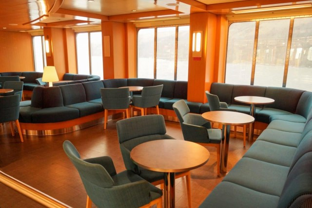 On deck 7 there is one of these small seating areas on either side opposite the shop and just before Stena plus. Copyright © Steven Tarbox