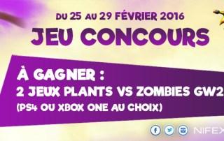 Concours : 2 jeux PvZGW2 à gagner