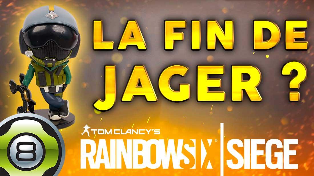 LA FIN DE JÄGER ? Et de gros changements sur Rainbow Six Siege (Patch Y4S4.3)