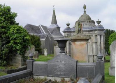 Knockbreda Parish Church & graveyard