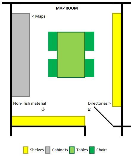 Plan of Map Room