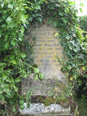 Gravestone inscription