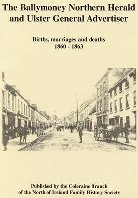 Book - Ballymoney Northern Herald & Ulster General Advertiser
