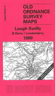 OLD ORDNANCE SURVEY MAPS COMBER /& SAINTFIELD IRELAND 1900 Godfrey Edition New