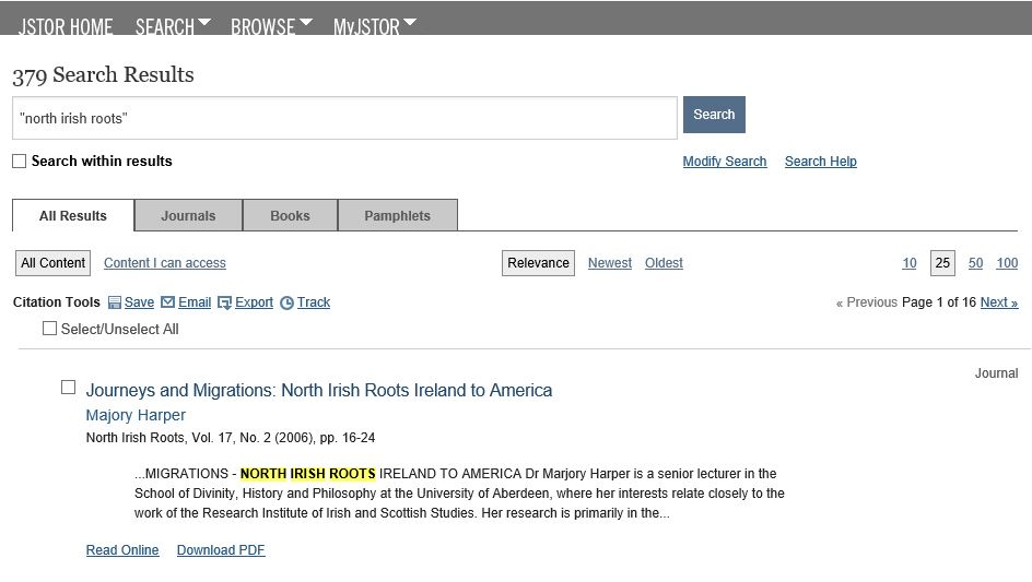 image - jstor search results
