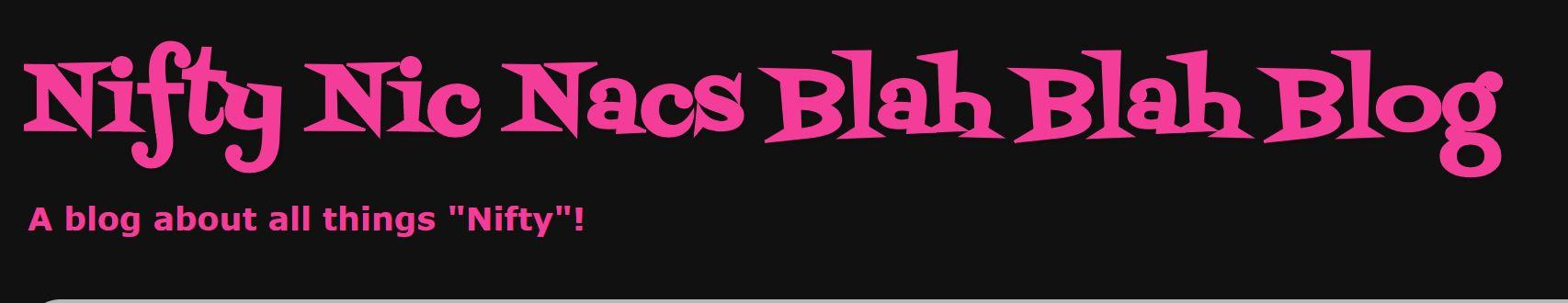 Nic Nac Blah Blah Blog