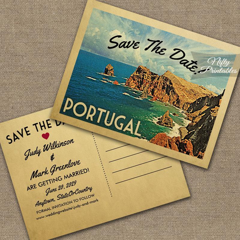 Beautiful Save Date Cards