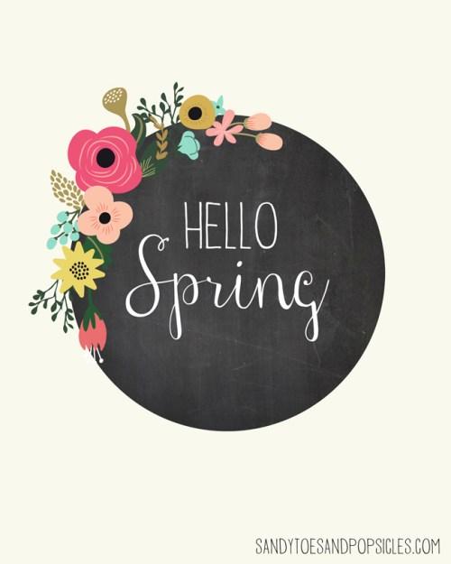 10 Beautiful Spring Printables at {nifty thrifty things}