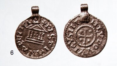 Monety zachodnioeuropejskie znalezione w Truso
