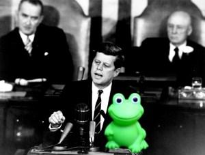 Kenedy and frog
