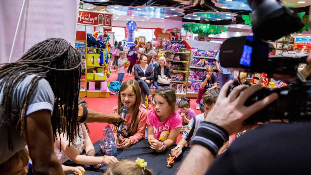Kids reactions on the Toytesters.tv Tour in Glasgow 2015