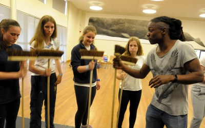 STOMP workshop at Rugby School