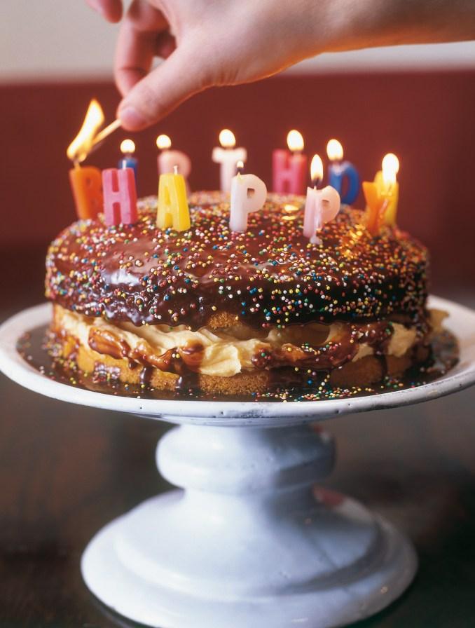 Birthday Custard Sponge | Nigella's Recipes | Nigella Lawson