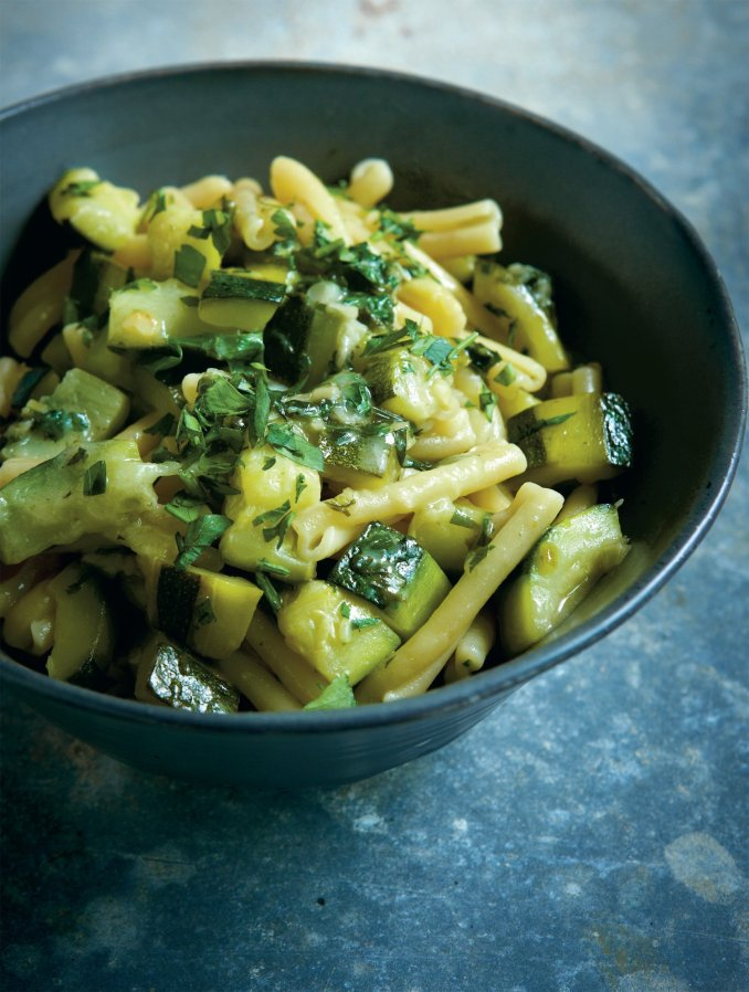 Pasta With Courgettes   Nigella's Recipes   Nigella Lawson